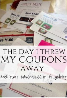 Frugal activities are sustainable when they're fun, not stressful. Couponing is awesome, but only if it's actually working for YOU. This punch list will help you assess which frugal practices are actually worth it, for YOU and your unique situation.