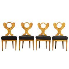 Suite of Biedermeier Side Chairs 1