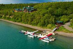 Alaskan Fishing Lodge