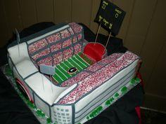 Josh's Sanford Stadium cake