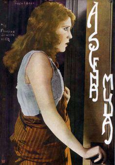 PAULINE STARKE - (A SCENA MUDA, November 16, 1922, Rio de Janeiro, Brazil)