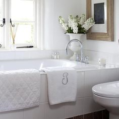 Traditional Bathroom Ideas I am so in love with this idea and I think I just sold my husband on the idea for the house we build!@ http://www.amazon.com/dp/B01C5YDNHK