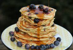 Blueberies pancake