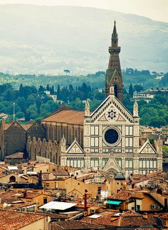 Basilica Santa Croce, Florence, Italy   |  45 Reasons why Italy is One of the most Visited Countries in the World
