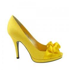 Nina Evelixa Canary Yellow Shoes