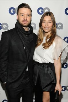 Justin Timberlake and Jessica Biel [Photo by Getty Images for GQ]