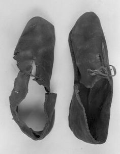 Bocksten Man's shoes