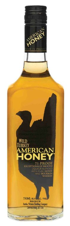 wild turkey honey liqueur smooth liqueur blended with pure honey and real wild turkey bourbon whiskey