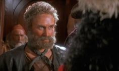 """WHAT. """"Before she earned an Academy Award nomination in Albert Nobbs, Glenn Close played Gutless the pirate in Steven Spielberg's 1991 film Hook. Gutless is the bearded pirate that Captain Hook punishes with a stay in the 'boo box.'"""""""