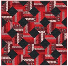 Inspired by Fabric: FREE Quilt Patterns. Maybe for Nic