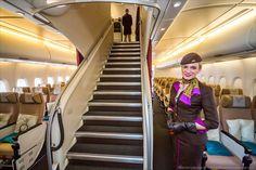 Así luce el viaje a bordo del avión más lujoso del mundo: Unsueño hecho realidad