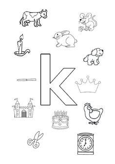 De letter 'K'