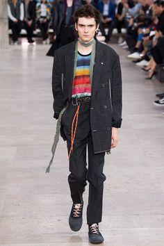 Lanvin unveileditsSpring/Summer 2017 collection during Paris Fashion Week.