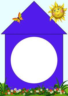 home shapes matching lern Preschool Classroom, Classroom Themes, Alphabet Activities, Preschool Activities, English Classroom Decor, Teaching Shapes, Shape Games, Preschool Colors, School Frame