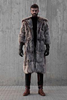 The Etxeberria Fall/Winter 2013 Lookbook is Winter Ready #coats #mensfashion trendhunter.com