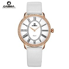 3115a79a829 CASIMA Relogio Feminino Women Watches 2615 Bracelet Watch Women Fashion  Casual Ladies Quartz Wrist Gift Reloj