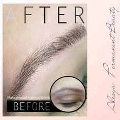 Hair imitation for a very natural look and forget about drawing your eyebrows in the morning  NO pain NO blood NO swelling  . . . #alesya_spmu #hairimitation #semipermanentmakeup #spmu #micropigmentation #permanentmakeup #lebanon #luxury #beirut #browsonfleek #eyebrows #eyebrowstattoo