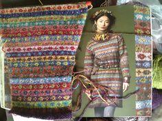 Ravelry: Project Gallery for Lidiya pattern by Kaffe Fassett