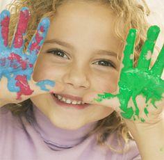 DIY Como hacer pintura y plasticina para niños