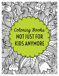 "Let them color! LibraryAware's ready-to-go flyers can make it all ""fun and no work."" Search for ""coloring"" in flyers- books, flyers-event and bookmarks  to find them all."