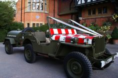 Hire our authentic 1942 US Army Air Force Jeep Prom Car, Golf Carts, Us Army, Air Force, Jeep, Monster Trucks, Cars, Luftwaffe, Jeeps