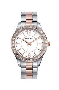 Reloj Viceroy Femme, la sensualidad y calidad de sus cuidados detalles, todo un objeto de deseo para la mujer de hoy. www.relojes-especiales.net #cristal #bicolor #acero