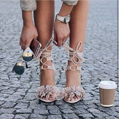 Fringe shoes are everywhere! https://www.stylect.com/shop/?cat=Sandals&ref=fb