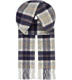Bannockbane tartan lambswool scarf