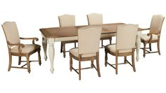 Riverside-Coventry-Coventry 7 Piece Dining Set - Jordan's Furniture