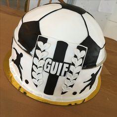 Fotboll, tårta, GUIF