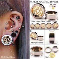 PAIR of Large Bamboo Wood Organic Saddle Ear Plugs//Tunnels 20-30mm