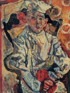 Chaim Soutine: The Little Pastry Chef (Baker Boy) c. 1919