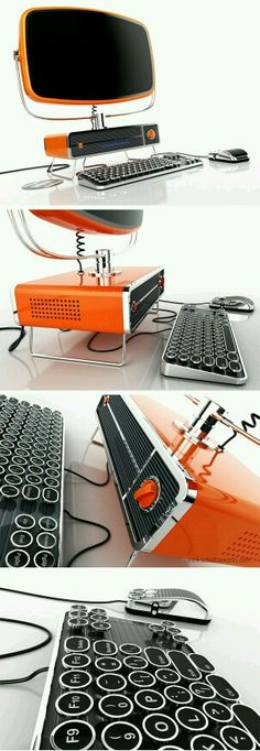 Retrocomputer. Best design ever. I DONT OWN THIS