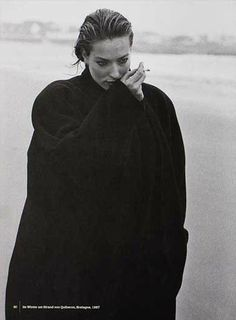 Tatjana Patitz - Quiberon - 1993 Loving looking at photographers on Pinterest.  -repinned by LA portrait photographer http://LinneaLenkus.com