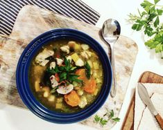 Kylling- og grønnsakssuppe Thai Red Curry, Ethnic Recipes, Blog, Blogging