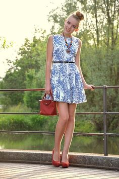Tk Maxx Dress, Longchamp Bag