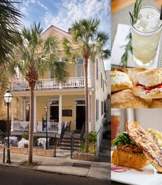 "Poogan's Porch in Charleston. The Blog Series ""Top 5 Restaurant Picks"" continues with Charleston restaurants! Read what a Charleston blogger had to say about which restaurants and foods you should try in Charleston South Carolina!"