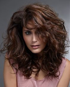 Creating big healthy hair we love _long brown wavy #hair styles VISIT US FOR #HAIRSTYLES AND #HAIR ADVICE WWW.UKHAIRDRESSERS.COM