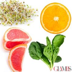 BOOST COLLAGEN WITH VITAMIN C  Vitamin C is one of the stars of skin care.