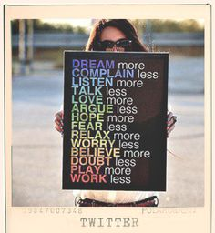 Words that Inspire #words #inspiration