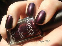 World Of Happy Nails: Kiko - 497 (Pearly Indian Violet)