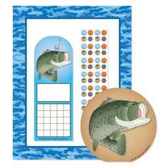 Water Camo Stationery Set (SE-7106)