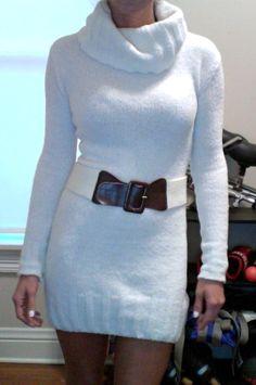 DIY: Sweater-Dress! | Shaela's Beauty & Babbles