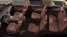 Cocoa/Mahogany trim adds sophsiticated style in the comfortable, functional Tahoe LTZ interior. See us at Ontario Motor Sales. Call us at 1-877-710-2438.