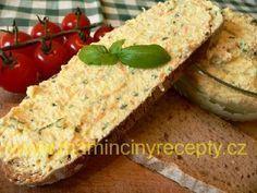 Barevná tvarohová pomazánka Zucchini, Tacos, Mexican, Vegetables, Ethnic Recipes, Food, Essen, Vegetable Recipes, Meals