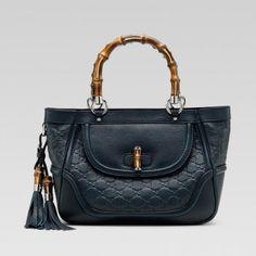 Gucci 246879 Af51n 4014 Taeseul Dekoration und eine kleine Tasche mit Bambo Gucci Damen Handtaschen