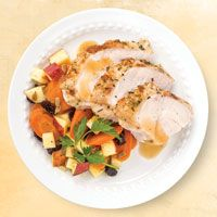 Wegman's honey brined turkey breast - since it's just us, I make two of these turkeys and they're always great. You can google the recipe.