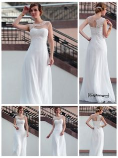 White Beading Sheer Bateau Neckline Cross Bodice Long Formal Dresses http://www.ckdress.com/white-beading-sheer-bateau-neckline-cross-bodice-long-formal-dresses-p-1880.html  #wedding #dresses #dress #Luckyweddinggown #Luckywedding #wed #clothing #gown #weddingdresses #dressesonline #dressonline #bridaldresses