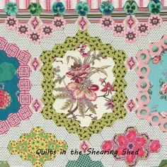 Quilts in the Shearing Shed Raffle Quilt pattern | Brigitte Giblin Quilts