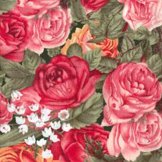 Big Horn Quilt Shop - spring mix floral   blanket fabrics ... : big horn quilts - Adamdwight.com